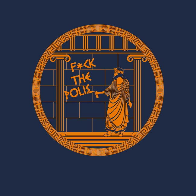 F*ck the Polis-youth basic tee-Lanfa
