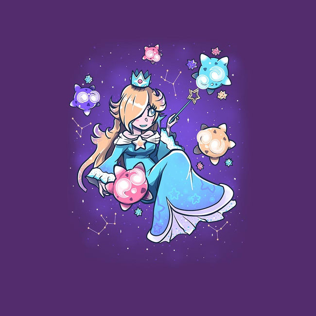 Cosmic Princess-womens fitted tee-TechraNova