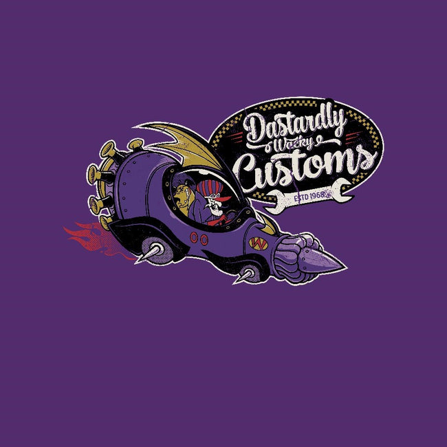 Dastardly Wacky Customs-mens basic tee-Nemons