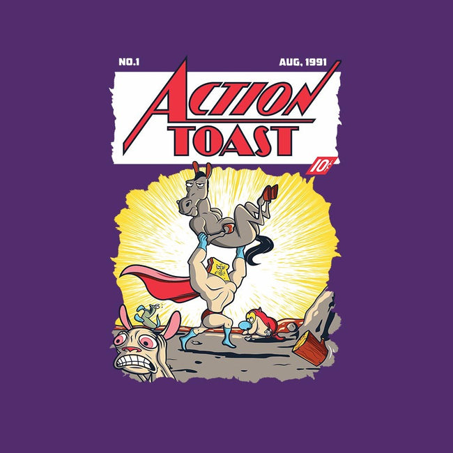 Action Toast-mens basic tee-hoborobo