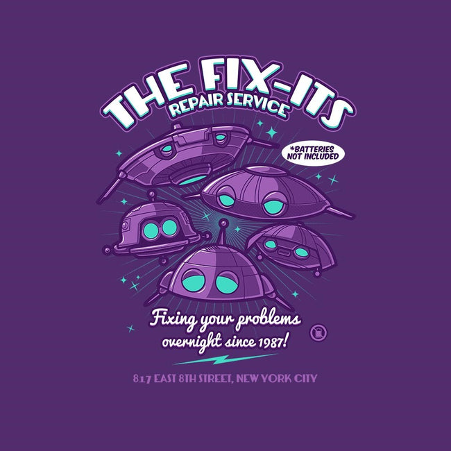 The Fix-Its Repair Service-womens fitted tee-Bamboota