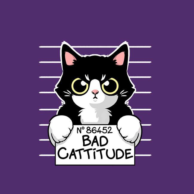 Bad Cattitude-mens basic tee-NemiMakeit