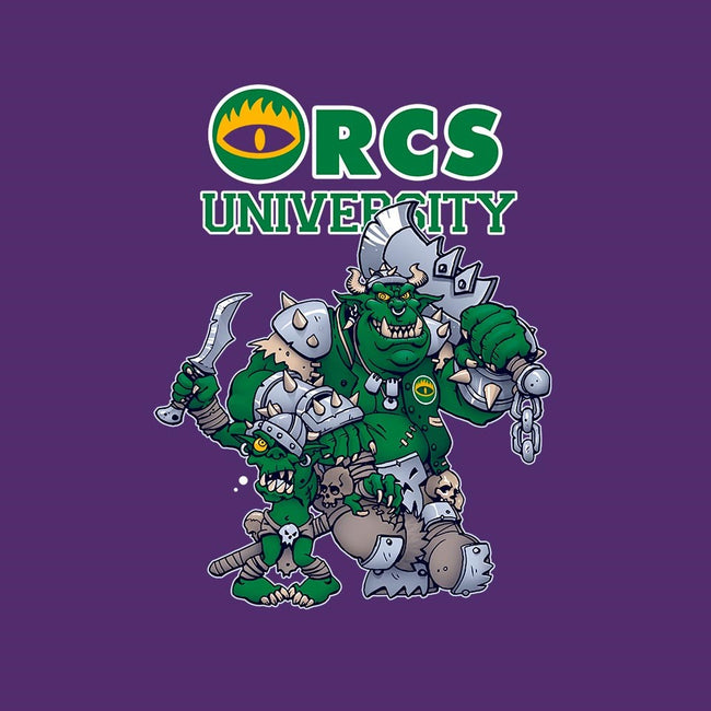 Orcs University-unisex basic tank-CuckooArtDesign