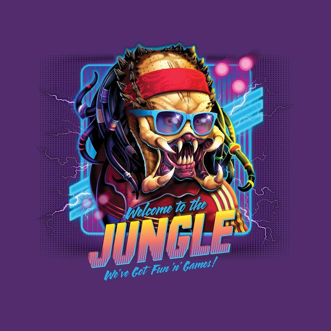 Welcome To The Jungle-womens basic tee-RockyDavies
