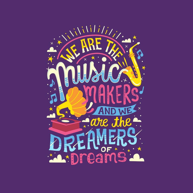 Music Makers & Dreamers-mens basic tee-risarodil