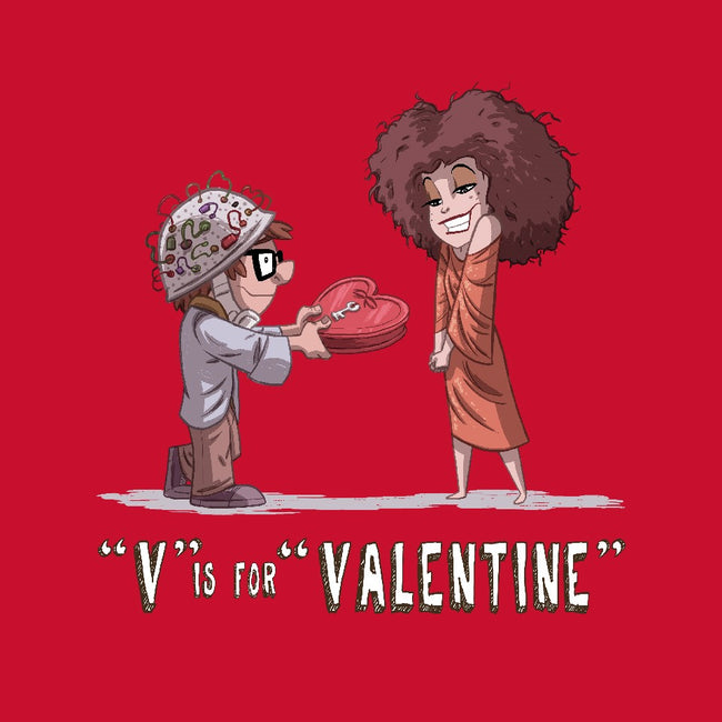 V is for Valentine-youth basic tee-otisframpton