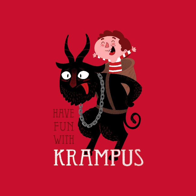 Have Fun With Krampus-unisex pullover sweatshirt-queenmob