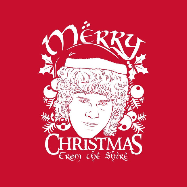 Merry Christmas-womens basic tee-Boggs Nicolas