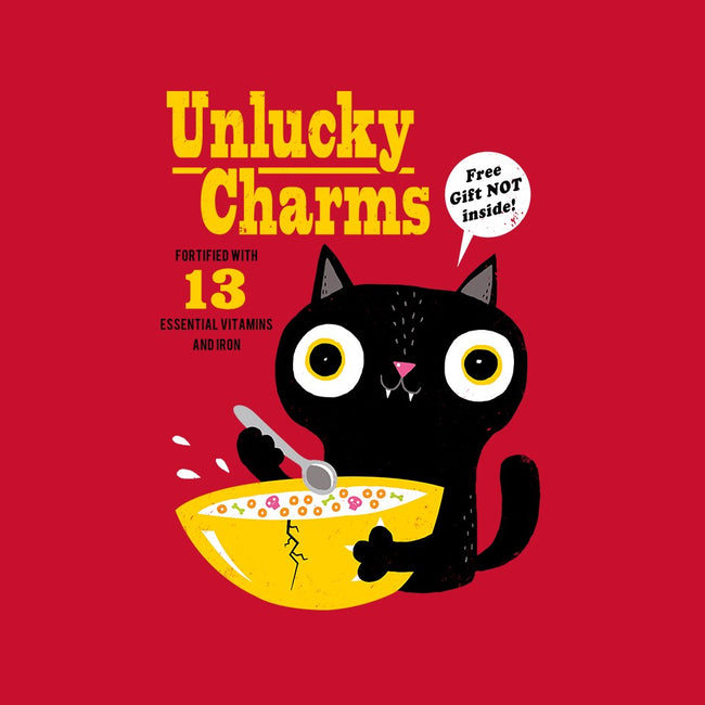 Unlucky Charms-youth basic tee-DinoMike