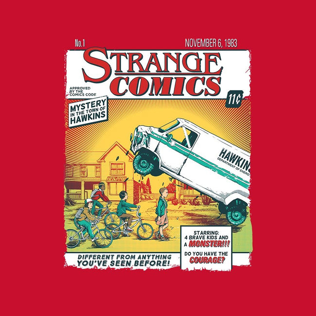 Stranger Comics-unisex zip-up sweatshirt-olly OS