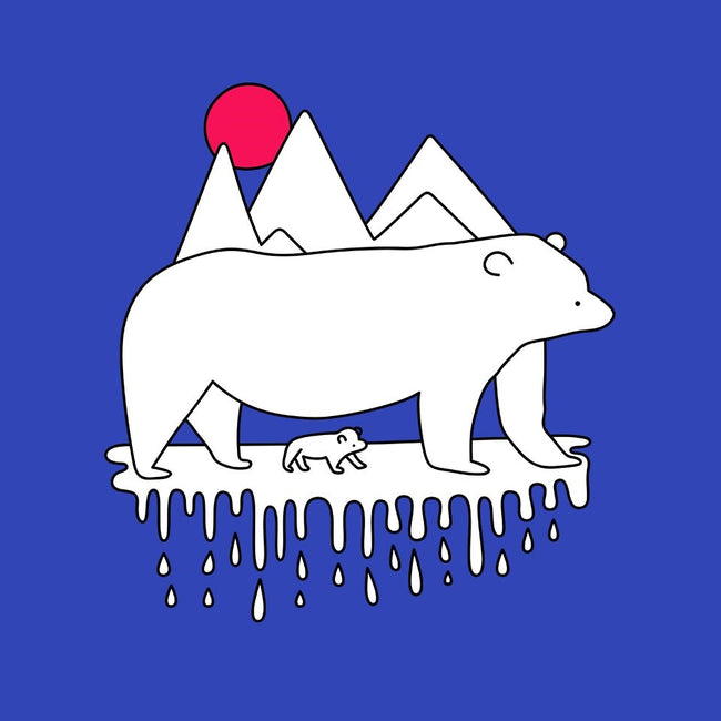Polar Bears-womens basic tee-rocketman_art