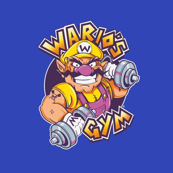 WARIO'S GYM-youth basic tee-FernandoSala