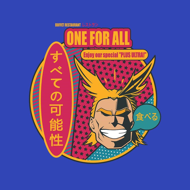 One for All Restaurant-mens basic tee-Coconut_Design