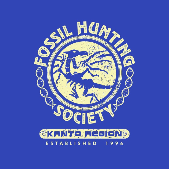 Fossil Hunting Society-mens basic tee-DCLawrence