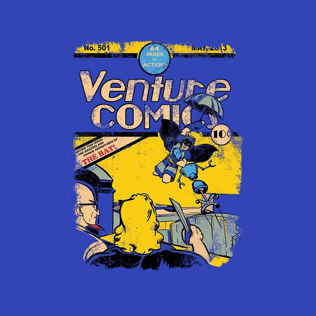 Venture Comics: The Bat-mens basic tee-Creative Outpouring