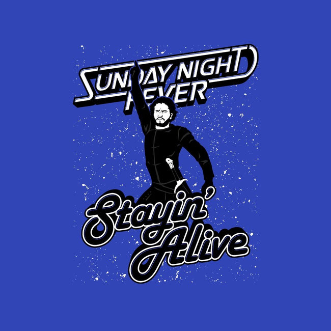 Stayin' Alive-youth basic tee-Stank