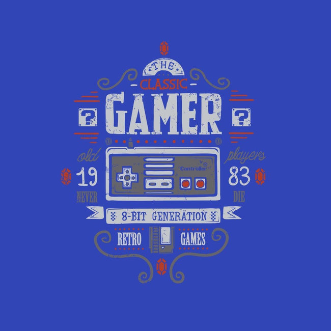 Classic Gamer-womens fitted tee-Typhoonic