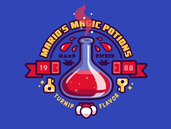 Mario's Magic Potions