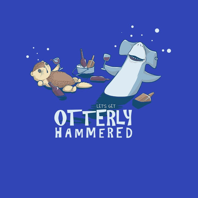 Otterly Hammered-unisex crew neck sweatshirt-AlanBao