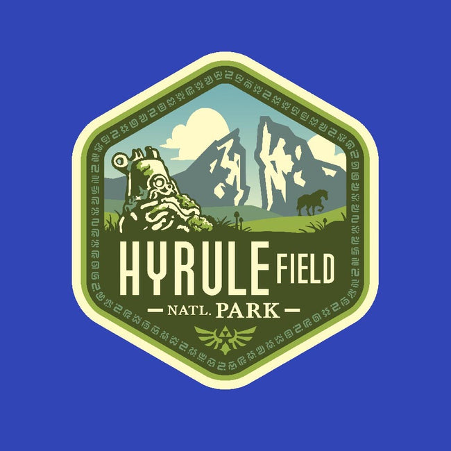 Hyrule Field National Park-mens basic tee-chocopants