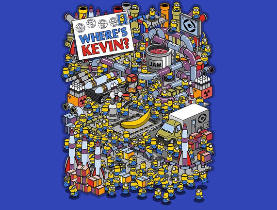 Where's Kevin?