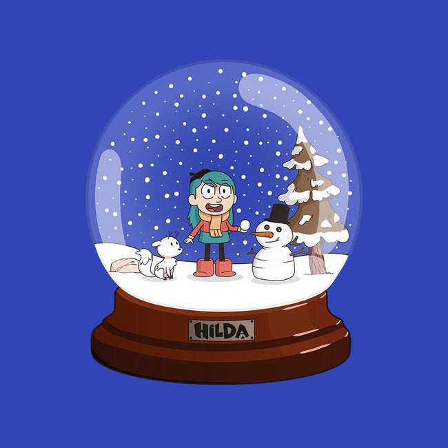 Adventure Snow Globe-mens basic tee-dumbassman