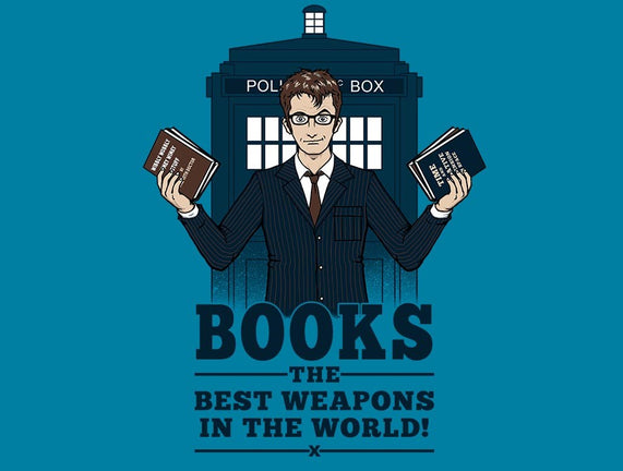 Books, The Best Weapons