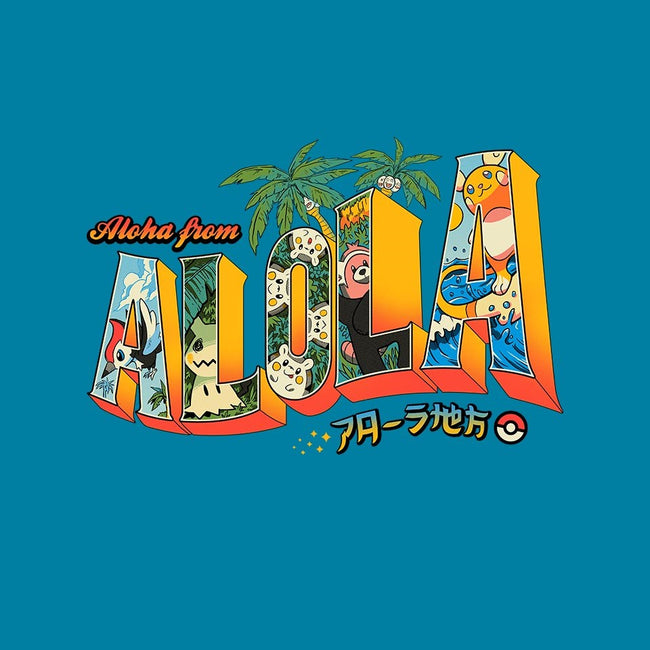 Aloha From Alola-mens long sleeved tee-Melee_Ninja
