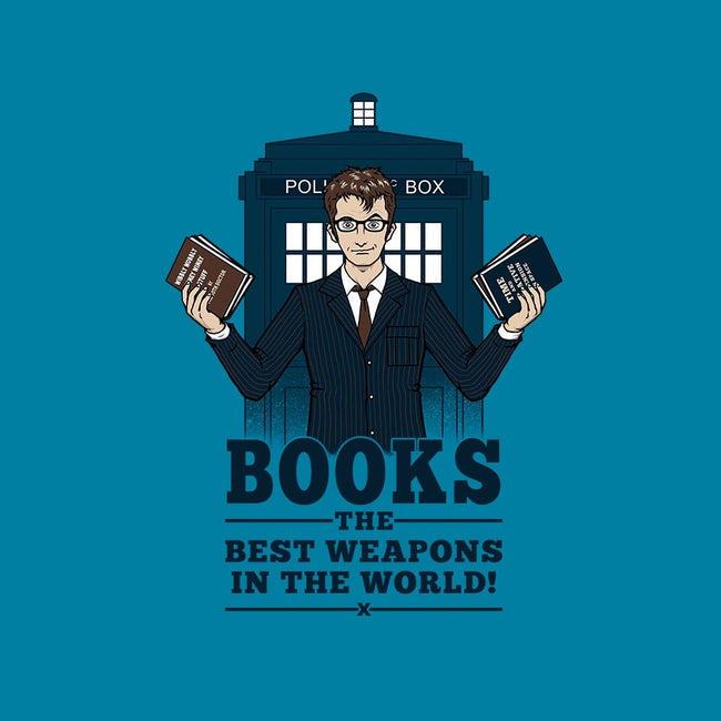 Books, The Best Weapons-unisex basic tank-pigboom