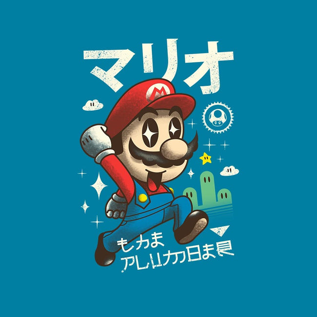 Kawaii Red Plumber-mens basic tee-vp021