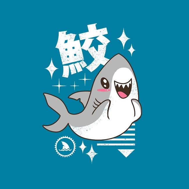 Kawaii Shark-unisex zip-up sweatshirt-vp021