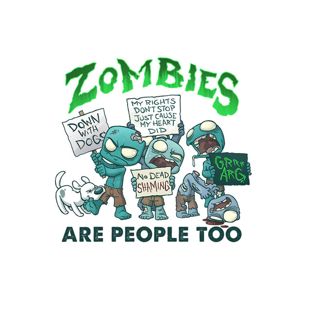 Zombie Rights-unisex crew neck sweatshirt-DoOomcat