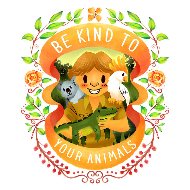 Be Kind to Your Animals-youth basic tee-starsalts