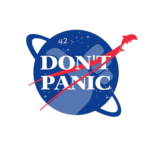 Don't Panic-womens fitted tee-Manoss1995