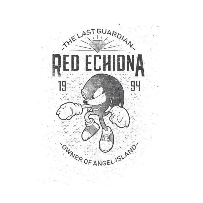 Red Echidna-unisex zip-up sweatshirt-trheewood