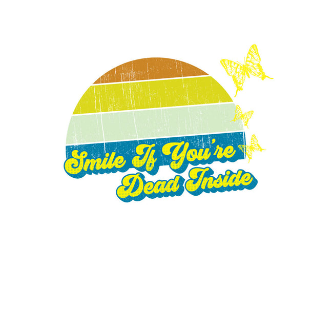Smile if You're Dead Inside-womens basic tee-benyamine12