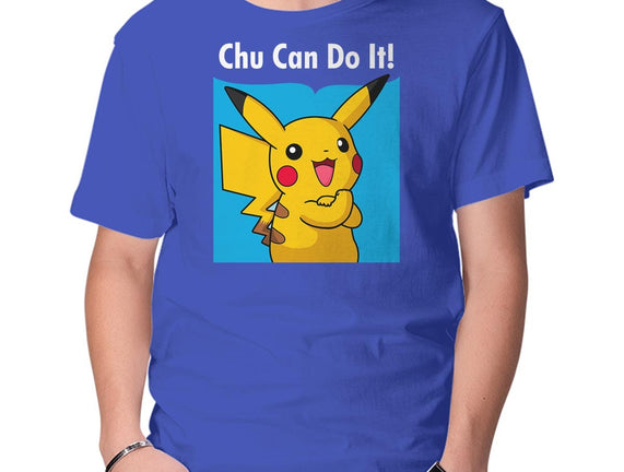 Chu Can Do It!