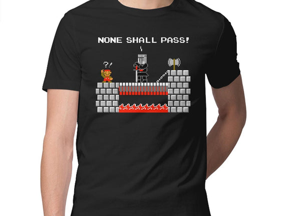 None Shall Pass Including Plumbers