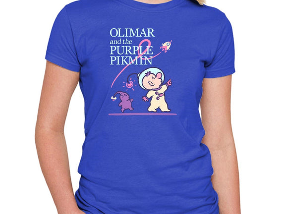 Olimar and the Purple Pikmin
