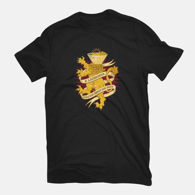 A Lannister Always...-mens basic tee-dylanwho