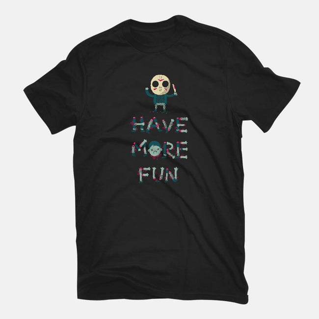 Have More Fun-youth basic tee-DinoMike