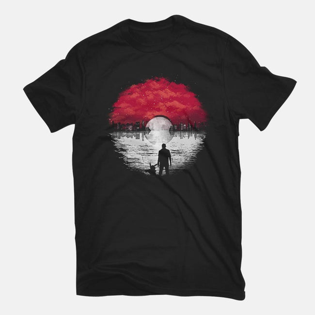 A World of Dreams and Adventures-mens basic tee-dandingeroz