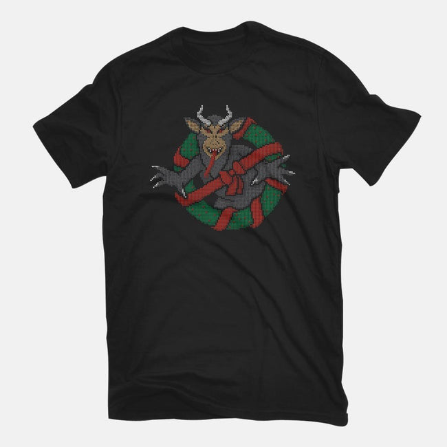 Krampus Busters-womens fitted tee-MJ