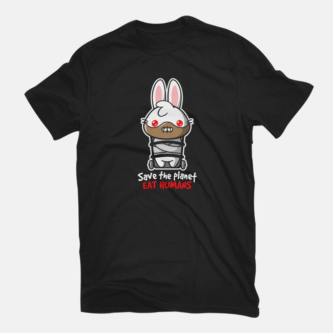 Killer Bunny-womens fitted tee-NemiMakeit