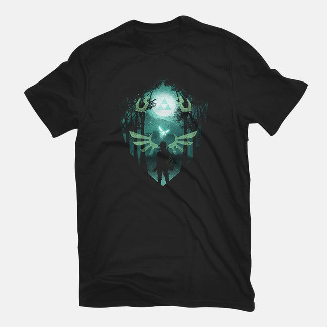 The Hero Crest-mens basic tee-dandingeroz