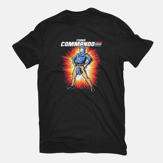 Cobra Commando-womens fitted tee-harebrained