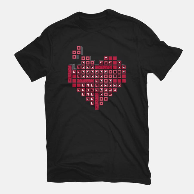 Retro Love-womens basic tee-drbutler