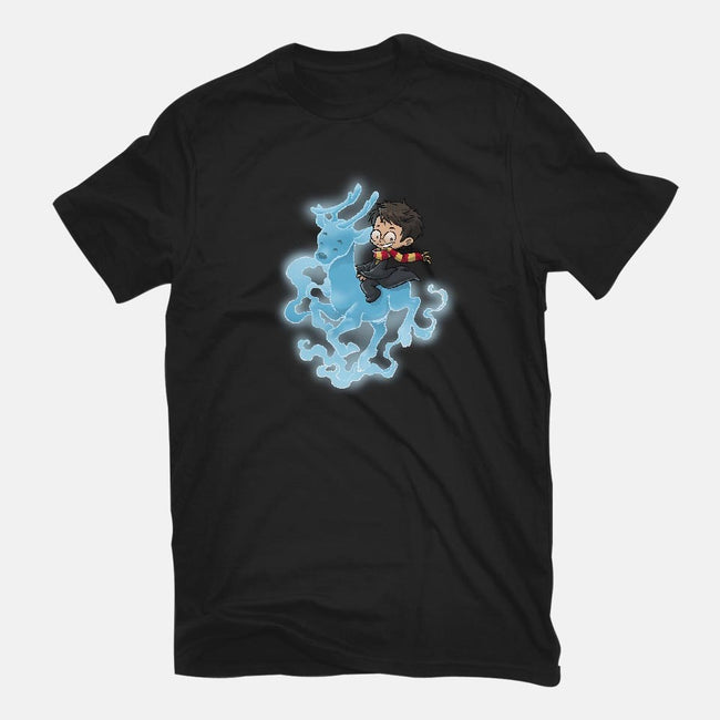 Magical Guardian-womens fitted tee-DoOomcat