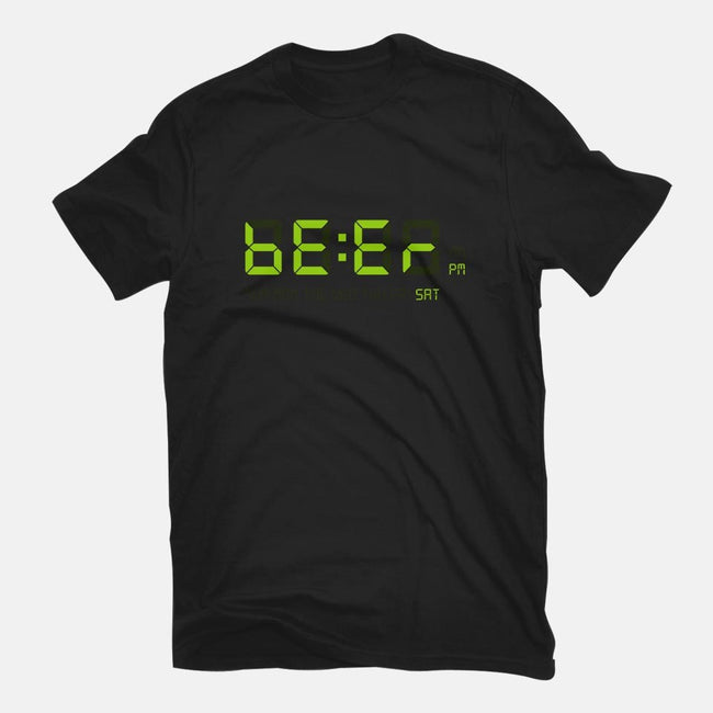 Beer Time-mens basic tee-Lanfa