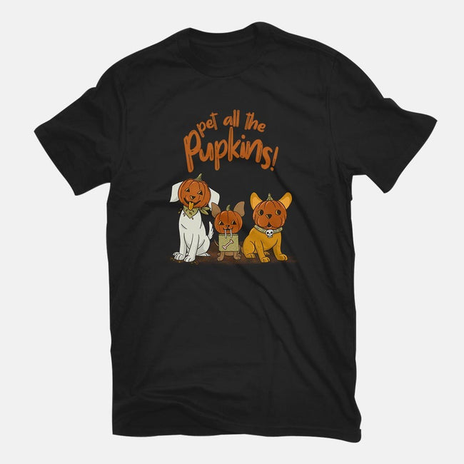Pupkins-womens fitted tee-Made With Awesome